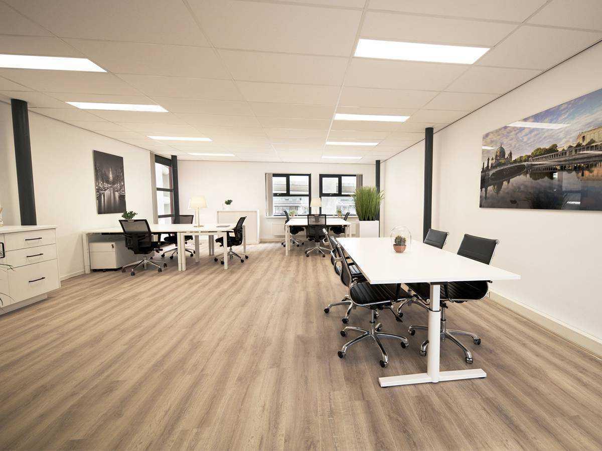 Geheel beeld van kantoorruimte 3.1 bij SamSam Offices