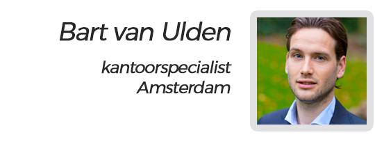 Kantoorspecialist Bart van Ulden bij SamSam Offices Amsterdam