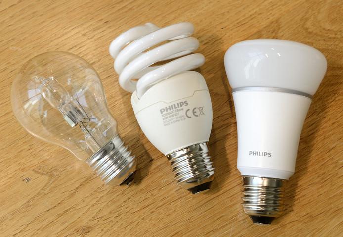 Hologeen lampen 2018 ook vervangen voor LED en spaarlamoen